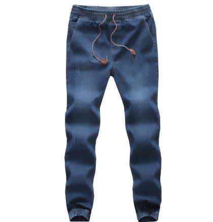 Men Homme Slim Trousers casual jeans Pants