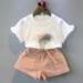Melario Girls Clothing SetsTwo-piece Sleeveless Children