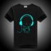 DMDM PIG Luminous Short Sleeves T-Shirts For Boys Girls