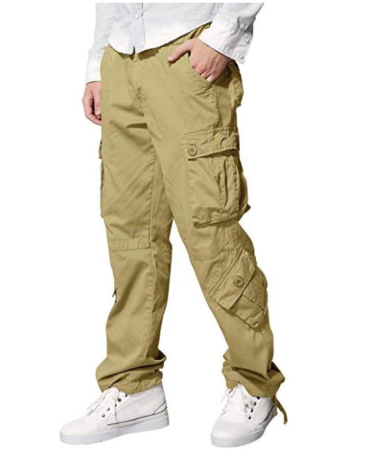 100% Cotton Men's Wild Cargo Pants