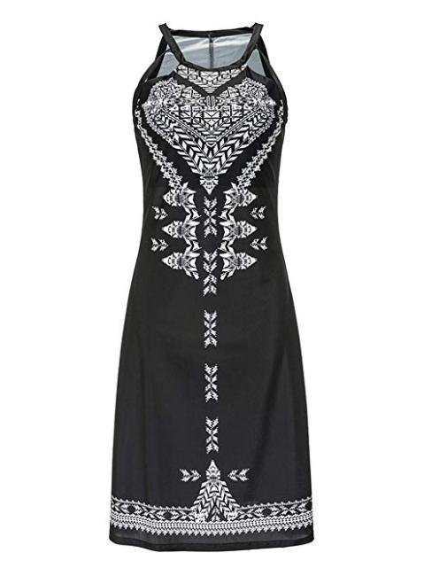 Bohemian Casual Beach Dress