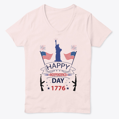 Happy 4th July USA Independent Day T-Shirt