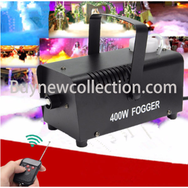 Mist Machine Stage Effect Disco DJ Party Christmas with Remote Control