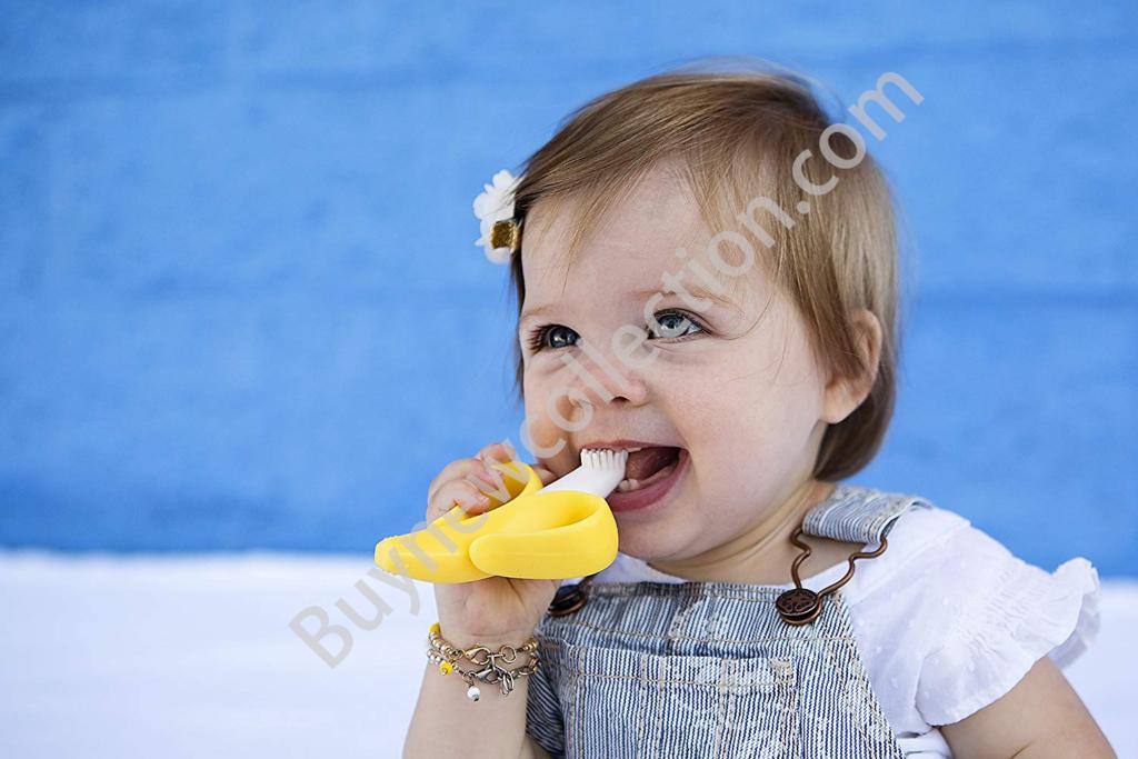 Baby Banana Brush for infants Kids Gifts