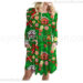 Cute Christmas dress for Women's with Santa Claus Print