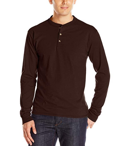 Hanes Men's Long-Sleeve shirt