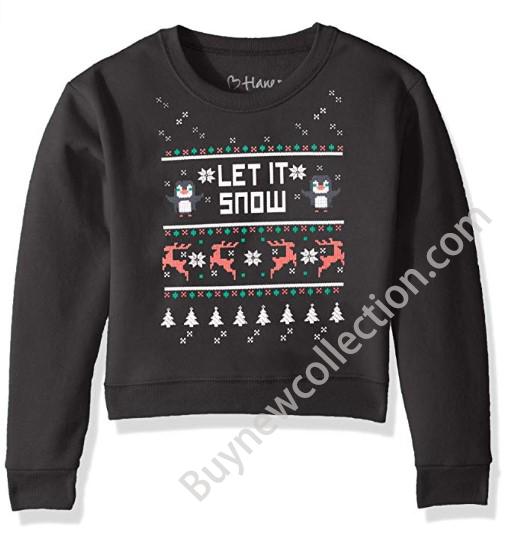 Kids Hanes Ugly Christmas Sweatshirt