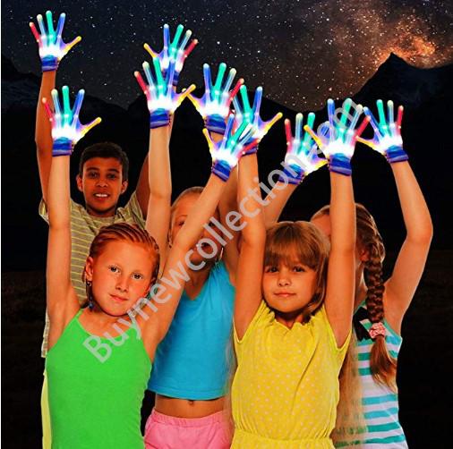 Lighting Gloves Cool Fun Toys Kids Gifts