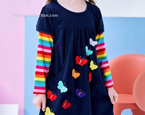 Long Sleeve Girls Dresses for Kids