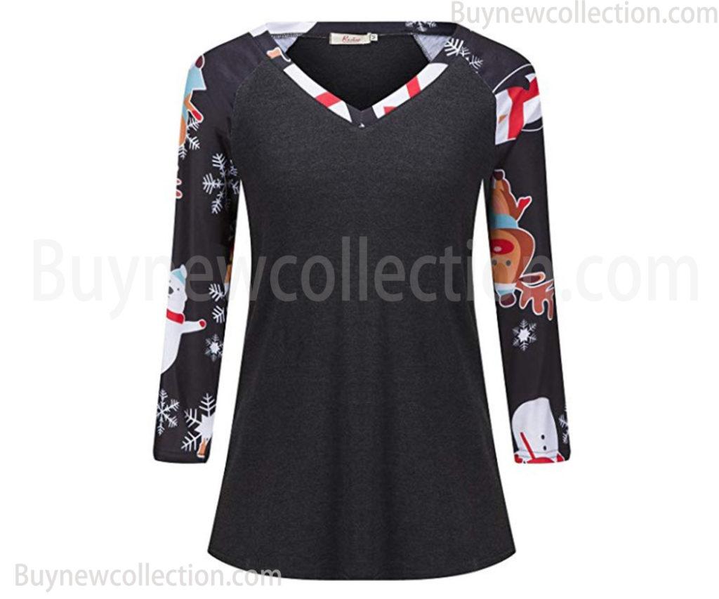 Long Sleeve V Neck Loose Shirt Long Sleeve V Neck Loose Shirt buy new collection