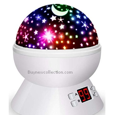 Multiple Colors Rotating Star light Kids Gifts