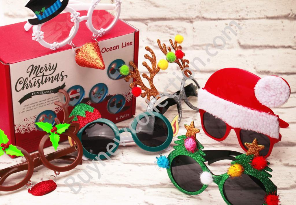 Ocean Line Novelty Christmas Glasses kids