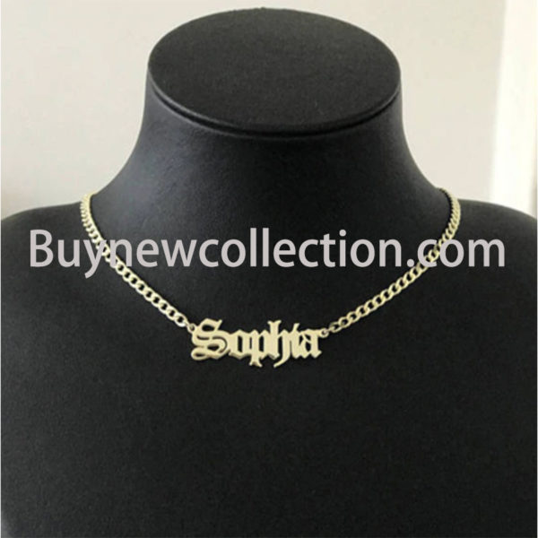 Pendant Necklace Personalized Jewelry Christmas Gift