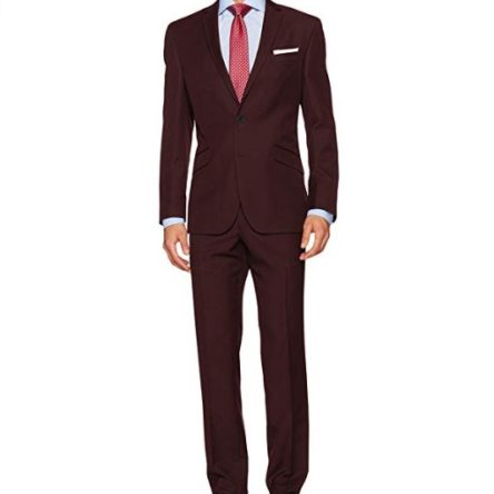 Men's  Slim 2 Button Fit Suit with pant