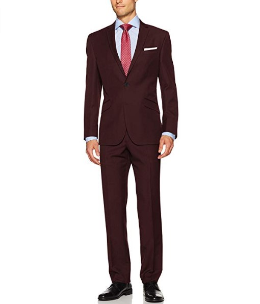 Men's Slim 2 Button Fit Suit with pant