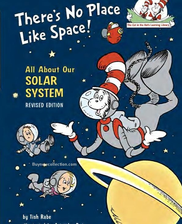 """Children book named """"There's No Place Like Space"""" Kids Gifts"""