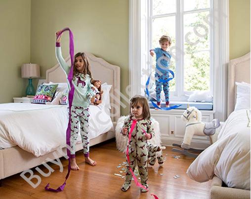 Unicorn Christmas Dress with pajamas Kids Gift