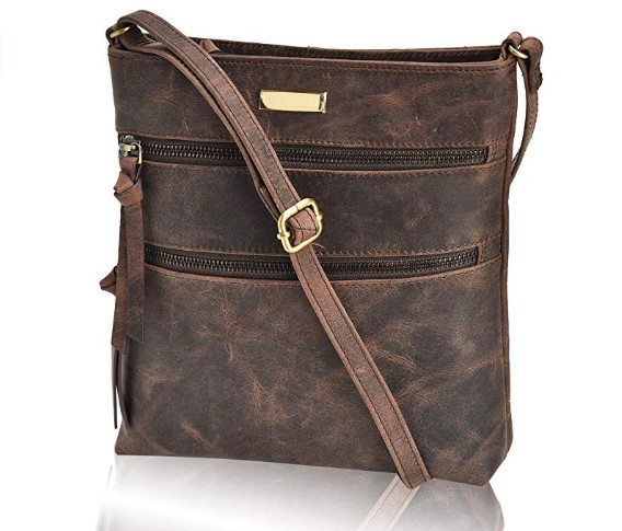 Women Small Body Bag Genuine Leather
