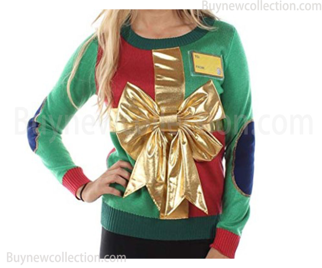 Wrapping Paper Christmas Sweater for women Ugly Christmas buy new collection