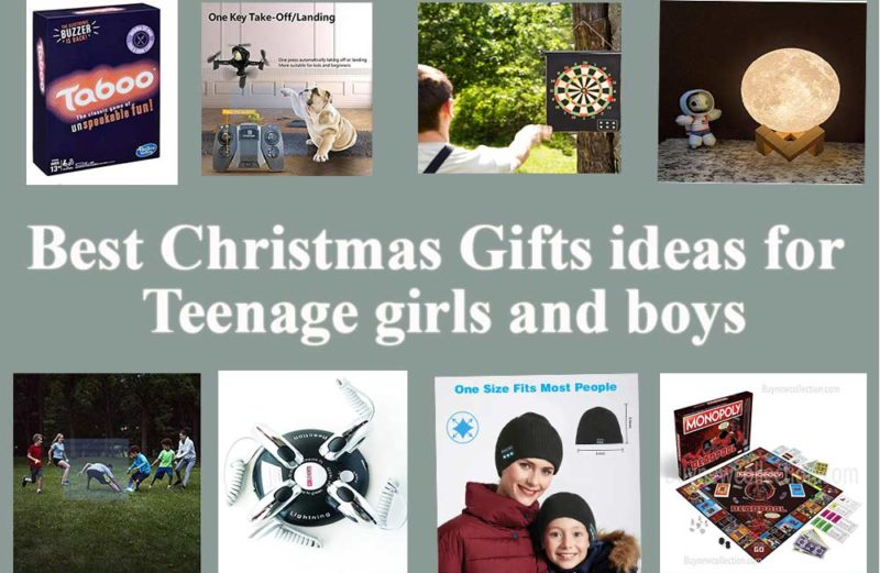 Best Christmas Gifts ideas for teenage girls and boys