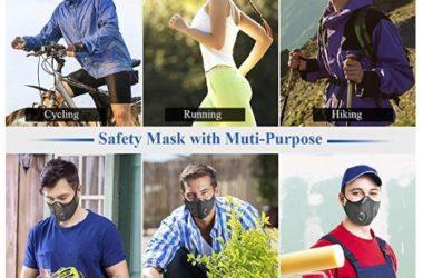 Anti corona virus masks Anti air pollution mask for men women teenage and kids N95 air masks N99 and N100 masks P95 and R95 masks